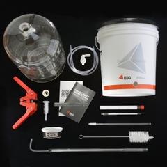 BSG™ K6 Premium Home Brewing Beer Making Kit, 6 Gallon Glass Carboy
