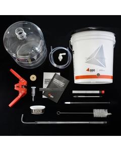 BSG™ K6PET Premium Home Brewing Beer Making Kit, 6 Gallon Plastic Carboy