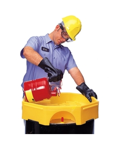 Bung Access Drum Funnel with Spout (no Cover) - UltraTech 0482