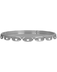 29 Gauge Gray Steel Lug Cover, Unlined (For Use on 08W29A)