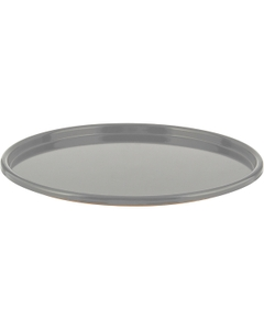 29 Gauge Gray Steel Dish Cover with Epoxy Lining