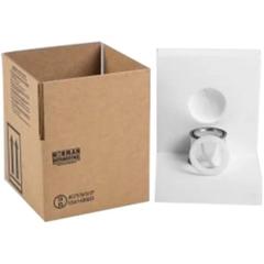 1 x 1/2 Pint Paint Can Hazmat UN 4G Foam Insert (Box, Ring & Paint Can Not Included)