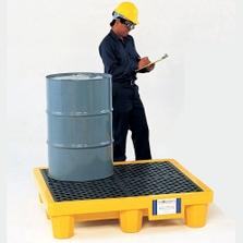 4-Drum Ultra-Spill Pallet P4 - UltraTech 1000/1001