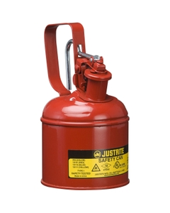 1 Quart, Type I Safety Can w/Trigger-Handle for Flammables, Red (Multi-Lingual)