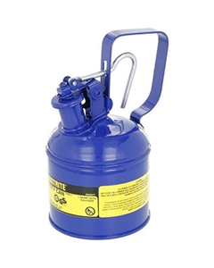 1 Quart, Type I Safety Can w/Trigger-Handle for Flammables, Blue