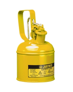 1 Quart, Type I Safety Can w/Trigger-Handle for Flammables, Yellow (Multi-Lingual)
