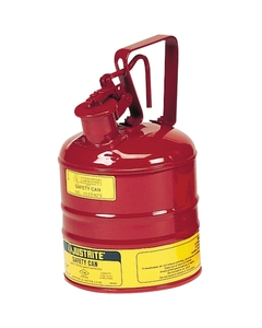 1 Gallon, Type I Safety Can w/Trigger-Handle for Flammables, Red