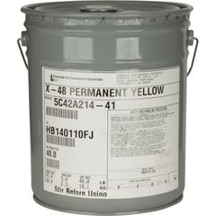 Industrial Permanent Yellow X48 Medium-Short Oil Alkyd Dispersions 5C42A214 (Y-74)