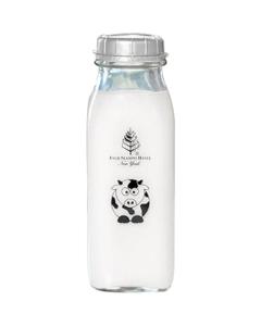 16 oz. Tall Pint Printed Glass Milk Bottle