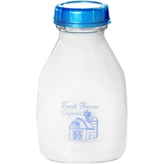 16 oz. Printed Squat Pint Glass Milk Bottle, 48mm 48-Snap