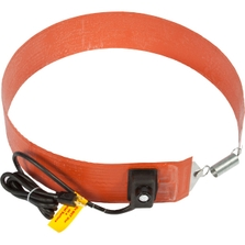 15 Gallon Extra Heavy-Duty Drum Heater Band for Steel Drums, Adj. Thermostat, Up to 425°F, 120v, 550w