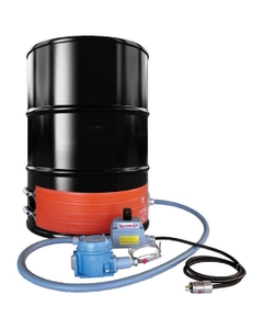 55 Gallon Drum Heater Band, T4A Hazardous Area for Steel Drums, Up to 158°F, 240V, 1300W