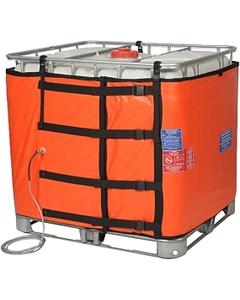 "275 Gallon IBC Tote High Grade Tote Heater, 37.5"" Height, CIZ1 Hazardous Area, Self-Limiting Temperature, Up to 86° F, 240v, 1000w"