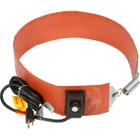 15 Gallon Heavy-Duty Drum Heater Band for Steel Drums, Adj. Thermostat, Up to 425°F, 120v, 700w