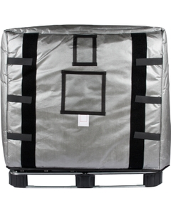 275 Gallon IBC Tote / 55-Gal Drum Pallet Insulated Cover