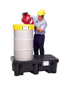 2-Drum Ultra-Spill Pallet P2 Economy - UltraTech 2504/2505