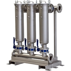 Multi-Plex (3) Filter Vessel, Carbon Steel, 3