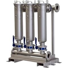 Multi-Plex (4) Filter Vessel, Carbon Steel, 4