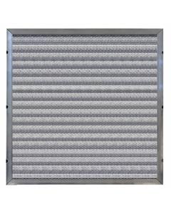 "10"" x 20"" x 2"" Depth Loading Aluminum Washable Air Filter"