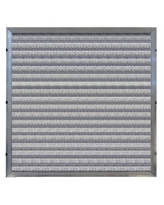 "12"" x 24"" x 2"" Depth Loading Aluminum Washable Air Filter"