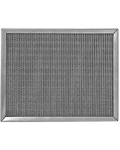 """10"""" x 20"""" x 2"""" Medium Weight Galvanized Steel Washable Air Filter"""