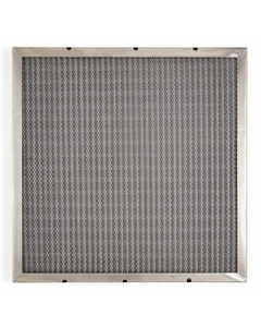 "12"" x 24"" x 2"" Mist Eliminator Galvanized Steel Washable Air Filter"
