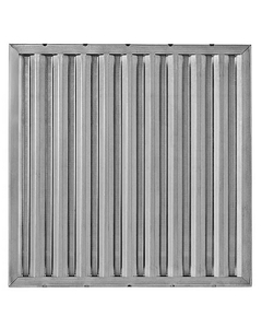 """25"""" x 16"""" x 1"""" Aluminum Washable Grease Filter"""