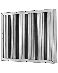 """10"""" x 20"""" x 2"""" Aluminum Washable Grease Filter"""