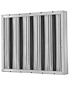 """25"""" x 16"""" x 2"""" Aluminum Washable Grease Filter"""