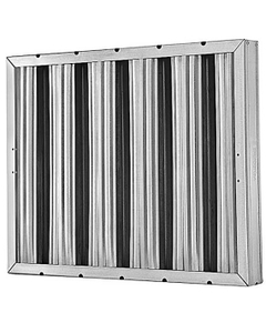 """10"""" x 20"""" x 2"""" 304 Stainless Steel Washable Grease Filter"""