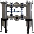 """Size #2 Duplex (30"""" Basket), 3"""" Flange, 304 Stainless Steel Filter Vessel"""