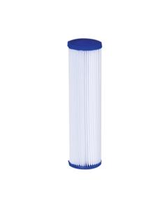 "20 Micron Pleated Polyester Economy Grade Liquid Filter Cartridge  (2-1/2"" x 10"")"