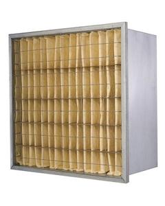 """20"""" x 20"""" x 12"""" Rigid Cell Air Filter, Single Header, MERV 14"""