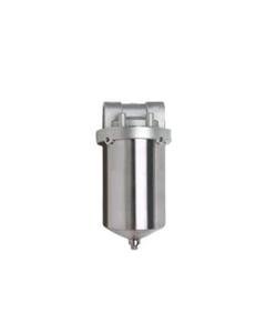 "5"" 316 Stainless Steel Single Cartridge Filter Vessel, 3/4"" NPT"
