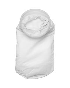 "Size #1, 50A Micron High Efficiency Polypropylene Microfiber Liquid Filter Bag, Plastic ""F"" Flange (XOAM50AP1F)"