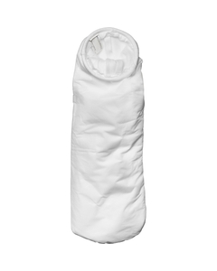 Size #2, 10A Micron High Efficiency Polypropylene Microfiber Liquid Filter Bag, Steel Ring, Handle (XOAM10AP2SH)