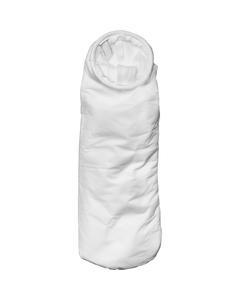 Size #2, 25A Micron High Efficiency Polypropylene Microfiber Liquid Filter Bag, Steel Ring, Handle (XOAM25AP2SH)