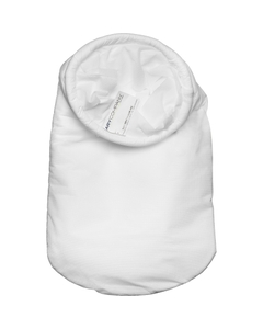 Size #1, 10A Micron High Efficiency Polypropylene Microfiber Liquid Filter Bag, Steel Ring, Handle (XOAM10AP1SH)
