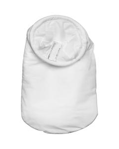 Size #1, 25A Micron High Efficiency Polypropylene Microfiber Liquid Filter Bag, Steel Ring, Handle (XOAM25AP1SH)