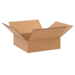 """10"""" x 10"""" x 3"""" Corrugated Box, Single Wall, 200#/ECt-32"""