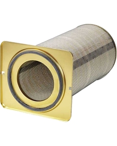 "16"" x 52"" (MERV 15) Nano Dust Filter Cartridge, Flame Retardant, Open/Closed"
