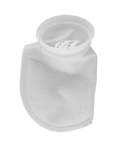 Size #3, 5 Micron - Polyester Felt Liquid Filter Bag w/Plastic Ring (PE5P3P)