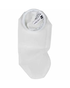 Size #4, 150 Micron - Nylon Monofilament Mesh Liquid Filter Bag w/Galvanized Steel Ring (NMO150P4SH )