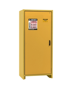 30-Minute EN Flammable Safety Cabinet, 30 Gallon, Yellow