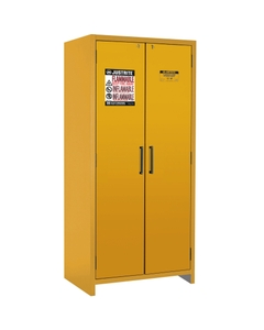 90-Minute EN Flammable Safety Cabinet, 30 Gallon, Yellow