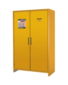 90-Minute EN Flammable Safety Cabinet, 45 Gallon, Yellow