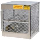 4 Cylinder Horizontal Gas Aluminum Storage Locker (Justrite® 23001)