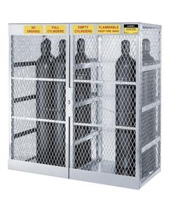 20 Cylinder Vertical Gas Aluminum Storage Locker (Justrite® 23007)