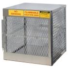 4 Cylinder Vertical Gas Aluminum Storage Locker (Justrite® 23009)