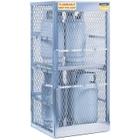 8 Cylinder Vertical Gas Aluminum Storage Locker (Justrite® 23010)